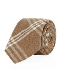 Hackett - Natural Mayfair Plaid Silk Tie for Men - Lyst