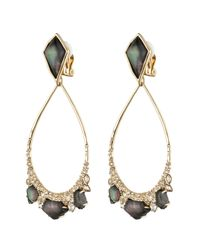 Alexis Bittar | Black Crystal Doublet Tear Drop Clip Earring You Might Also Like | Lyst