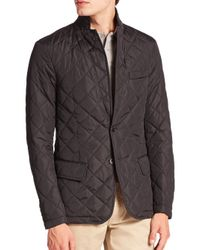 Polo Ralph Lauren - Black Quilted Sportcoat for Men - Lyst