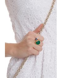 Monica Vinader - Green Siren Cocktail Ring Grn Onyx - Lyst
