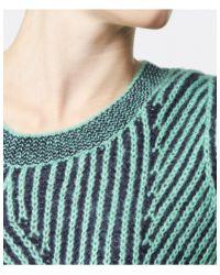 Paul by Paul Smith - Green Twist Knit Sweater - Lyst