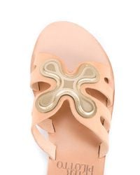 Ancient Greek Sandals - Natural X Peter Pilotto Silicone Flower Sandals - Lyst