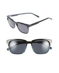Ted Baker | Black 54mm Sunglasses for Men | Lyst