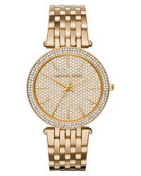 MICHAEL Michael Kors | Metallic 'darci' Bracelet Watch | Lyst