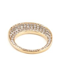 Hoorsenbuhs - Metallic 'chip' Diamond Ring - Lyst