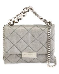 Stella McCartney - Gray Beckett Quilted Shoulder Bag  - Lyst