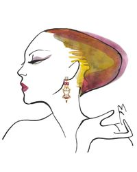 Lizzie Fortunato | Metallic Till Dawn Earrings | Lyst
