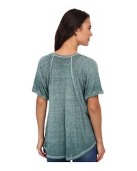 Free People | Green Tri-blend Free Fallin | Lyst