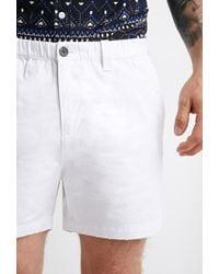 Forever 21 | White Pull-on Chino Shorts for Men | Lyst