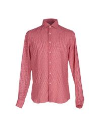 Xacus | Pink Shirt for Men | Lyst