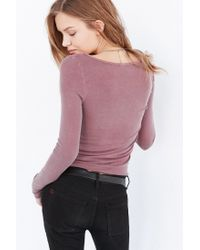 Truly Madly Deeply - Purple Callie Boatneck Top - Lyst