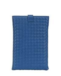 Bottega Veneta | Blue Classic Woven Nappa Mini Ipad Case | Lyst