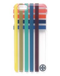 Tory Burch - Multicolor Multi Color Clear Iphone 6 / 6s Case - Multi - Lyst