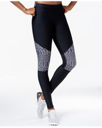 Under Armour | Black Printed Leggings | Lyst