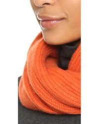 Rag & Bone | Orange Cynthia Cashmere Scarf | Lyst