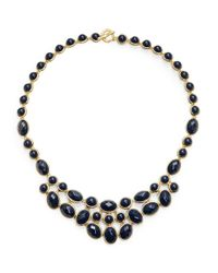 Karen Kane | Black Tranquil Water Statement Necklace | Lyst