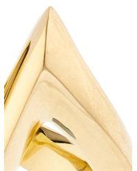 Shaun Leane - Metallic Yellow-Gold Split Ring - Lyst