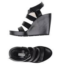 Balenciaga | Black Sandals | Lyst