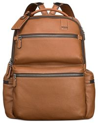 Tumi - Brown Beacon Hill Rever Brief Pack for Men - Lyst