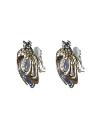 Alexis Bittar - Blue Jardin Mystã¨re Scarab Beetle Clip Earring You Might Also Like - Lyst