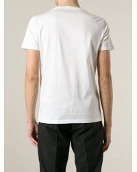 Iceberg - White Printed Crew-Neck T-Shirt for Men - Lyst