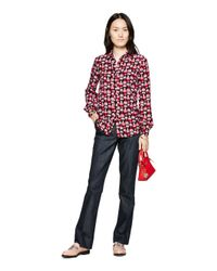 kate spade new york | Red Dancing Hearts Popover | Lyst