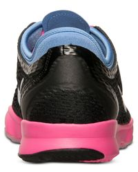 Nike   Black Women's Zoom Fit Training Sneakers From Finish Line   Lyst