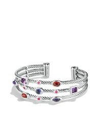 David Yurman | Metallic Renaissance Bracelet With Iolite & Gold | Lyst