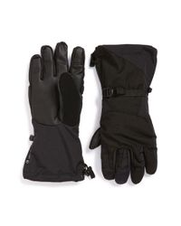 The North Face | Black 'montana E-tip(tm)' Tech Gloves for Men | Lyst
