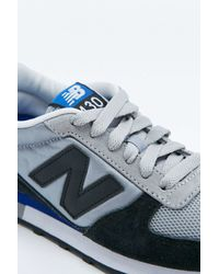 New Balance | 430 Blue And Grey Trainers | Lyst
