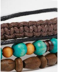 Classics 77 | Brown Money First Bracelet Pack for Men | Lyst