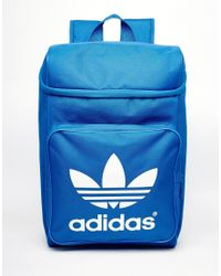 Lyst - adidas Originals Classic Backpack in Blue for Men 8d30c4be6b333