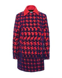 Mary Katrantzou | Purple Coat | Lyst