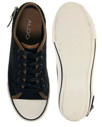 ALDO | Black Ranutia Canvas Trainer | Lyst