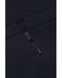 HUGO Blue Viscose-blend Skirt: 'rajka'