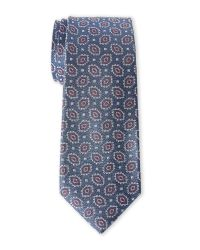 Vince Camuto | Blue Sesto Medallion Silk Tie for Men | Lyst