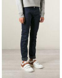 Acne Studios | Blue 'Max' Slim Fit Jeans for Men | Lyst