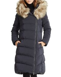 Ralph Lauren | Black Detachable-hood Down Coat | Lyst
