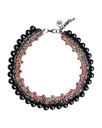 Venessa Arizaga - Gray Necklace - Lyst