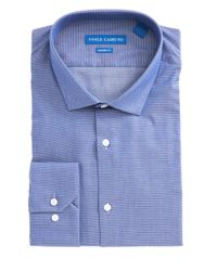 Vince Camuto | Blue Modern Fit Chambray Dress Shirt for Men | Lyst