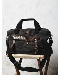 Free People - Black Bed Stu Womens Townsend Messenger - Lyst