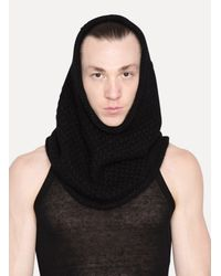 Lost & Found - Black Hood for Men - Lyst
