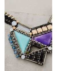 Nocturne - Multicolor Tetherwing Bib Necklace - Lyst