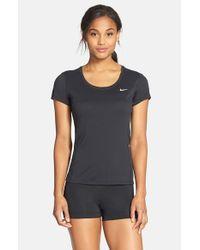 Nike - Black 'contour' Dri-fit Tee - Lyst