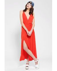 Reformation | Red Citrine Maxi Dress | Lyst
