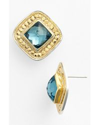 Anna Beck - Blue 'gili' Stud Earrings - Lyst