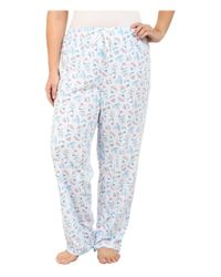 Carole Hochman | Blue Plus Size Packaged Key Item Pajama | Lyst
