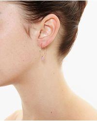 Asherali Knopfer - Metallic Interchangeable Lou Hoop Earring - Lyst