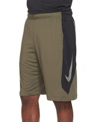 Nike Green 'hyperspeed Knit' Dri-fit Athletic Shorts for men