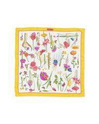 Ferragamo - Multicolor Floral-Print Foulard Scarf - Lyst